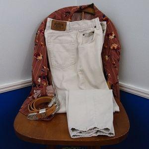 Vintage Route 66 Light Tan Jeans 5/6